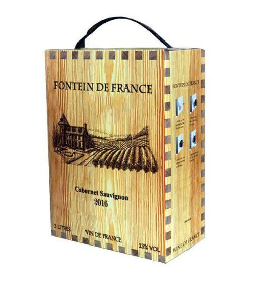 Vang bịch 3 L Fontein De France